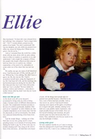Page2 small of Sarah Settelen's article Remembering Ellie